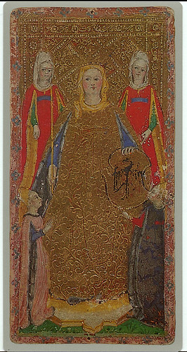 002-La emperatriz -Cary-Yale Visconti Tarot Deck