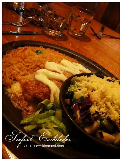 Montezuma's Mexican Restaurant: Seafood Enchiladas