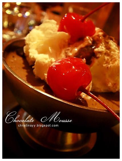 Montezuma's Mexican Restaurant: Chocolate Mousse