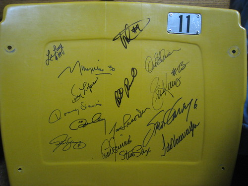 Dodger Seat