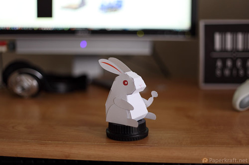 2011 Year of the Rabbit Papercraft 004