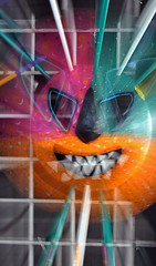 Vegigante 3D (Brenda Castro) Tags: color puertorico mascara vejigante copu