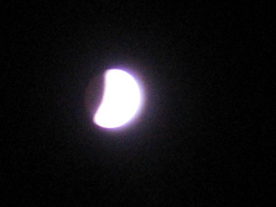 Solstic lunar eclipse