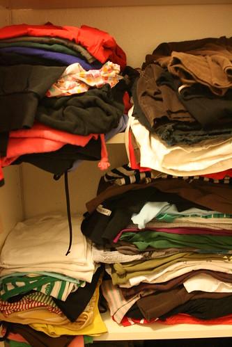 closet: shelves