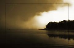 Chasing the dark.. (Ravi Pinisetti) Tags: light lake canon dark indiana ravi monroe 1022mm pse 500d monocolor pinisetti