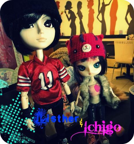 Ichigo y Listher su primer encuetro!!!