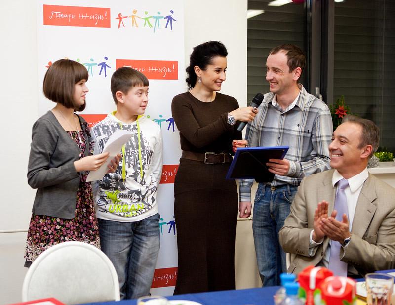 Тина Канделаки побеждает детский рак