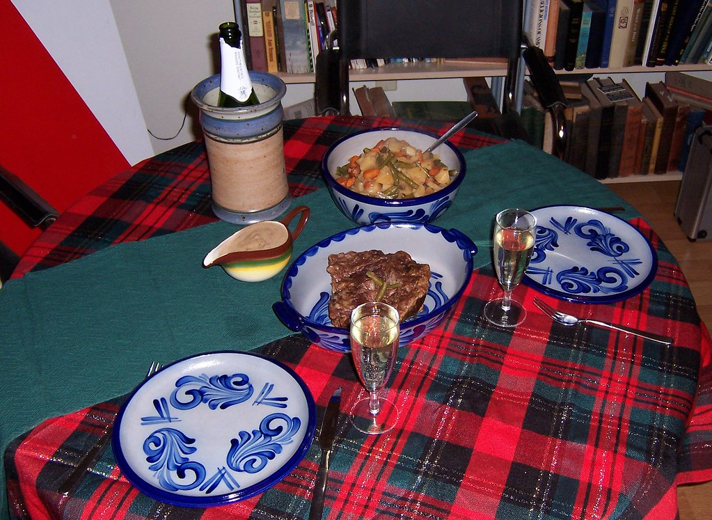 xmas dinner 2010