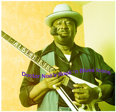 Albert in Memphis (Doctor Noe) Tags: guitar blues master flyingv guitarworld albertking noetheg