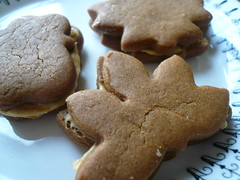 Gingerbread Sandwiches Close