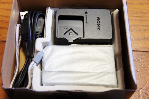 SONY CyberShot TX5 UnBox