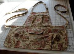 Gardening Apron (kizilod2) Tags: garden gardening sewing apron pockets biastape