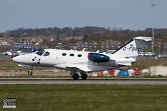 G-FBKC - 510-0127 - Private - Cessna 510 Citation Mustang - Luton - 100421 - Steven Gray - IMG_0132
