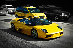 Lamborghini Murcielago Roadster (texan photography) Tags: texas houston ferrari enzo bugatti lamborghini veyron roadster murcielago supersports lamborghinimurcielagoroadster lp640 worldcars lightroom3 yellowlambo 599gto lp560 lp670sv 458italia lp570sl