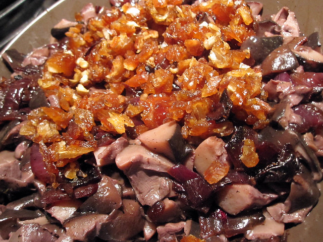 ... dates, which we added once the mushrooms and onions were cooked