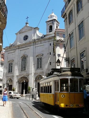 La ville est sillonnée par les tramways