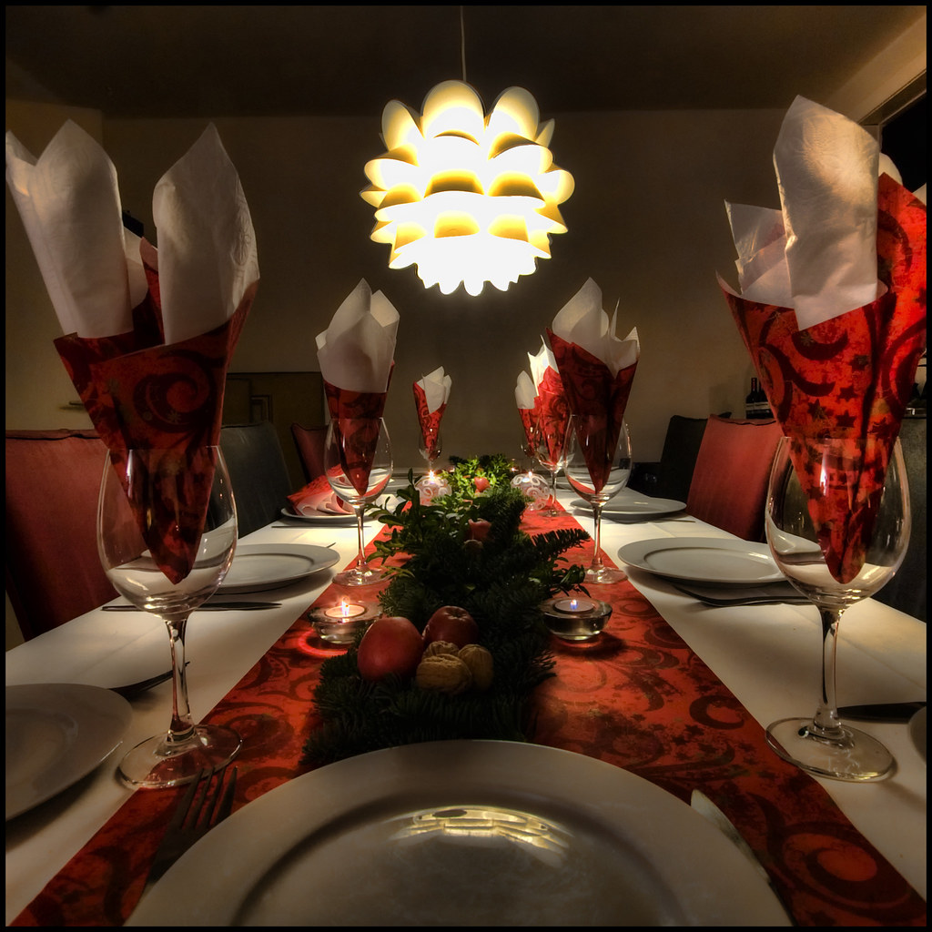 Google Images Christmas Table Decorations: DINNER TABLE DECORATION