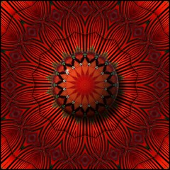 Red Square (Lyle58) Tags: abstract geometric circle design pattern kaleidoscope mandala symmetry zen harmony reflective symmetrical balance circular kaleidoscopic kaleidoscopes kaleidoscopefun kaleidoscopesonly