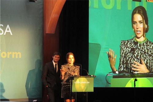 La 11e édition des Global Green Sustainable Design Awards. Les Global Green Sustainable Awards ont été sponsorisés par l'hôtel Gavarni, le premier hôtel indépendant certifié Ecolabel Européen à Paris.