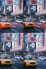 Actionsampler in Times Square (ho_hokus) Tags: nyc newyorkcity ny newyork lomo manhattan timessquare actionsampler
