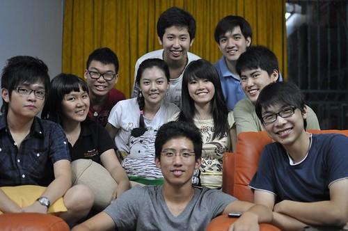 Raymond,Meu Ye,Wen Jie,Chee Li Kee.Kheng Hoe,Kheng Aik,Shi Ning,Leon,Chern Jung and Wei Lon