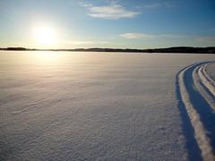 DSC00231 (Siroccosky) Tags: christmas xmas winter snow skiing sweden logcabin snowmobile varmland