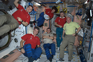 Expedition 26 'toasts' to the New Year