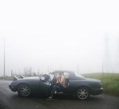 Voyeurism (1/52) (alexis mire) Tags: car fog canon private couple personal sigma intimate voyeurism storytelling 30mm 52weeks ryanjay alexismire