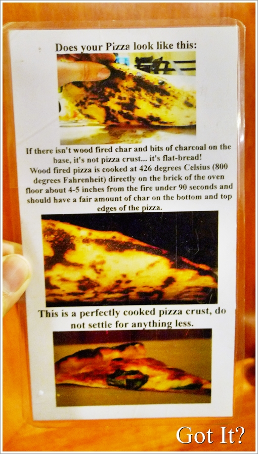 Charred Pizza Crust