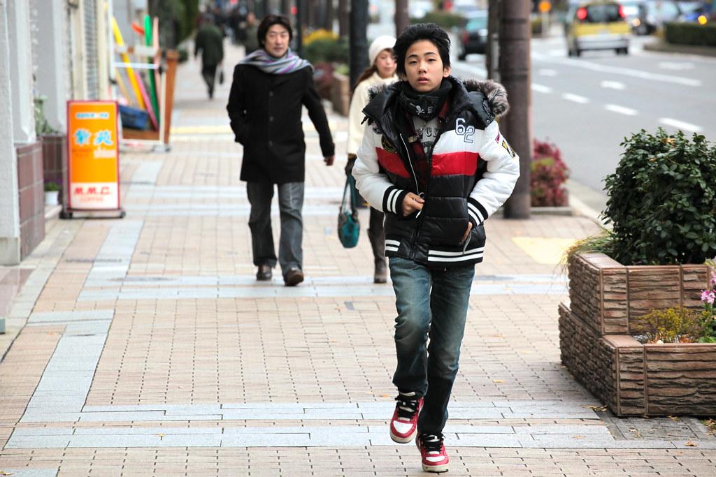 Running in Kobe