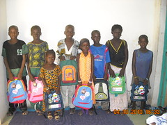 Enfants parrainés, rentrée scolaire 2010/2011