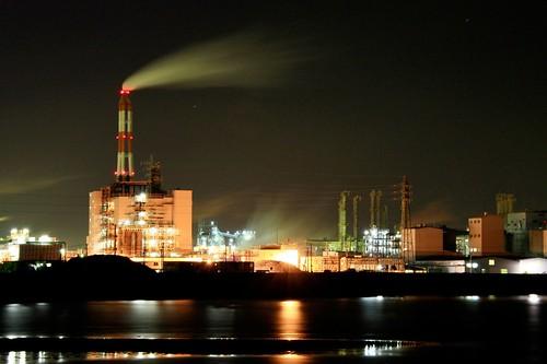 四日市コンビナート-Yokkaiti Manufacturing Complex