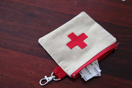 Front of First Aid Pouch