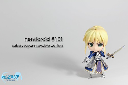 Nendoroid Saber: Super Movable Edition