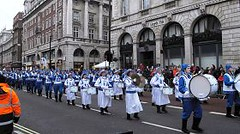 天国乐团参加伦敦新年大游行-2