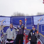 Sarah Elliot (Big White Racers/BCST) Third Junior at Sunday River Nor-Am Giant Slalom
