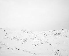 (Gebhart de Koekkoek) Tags: blue white snow mountains alps mamiya film austria minimal 6x7 tyrol