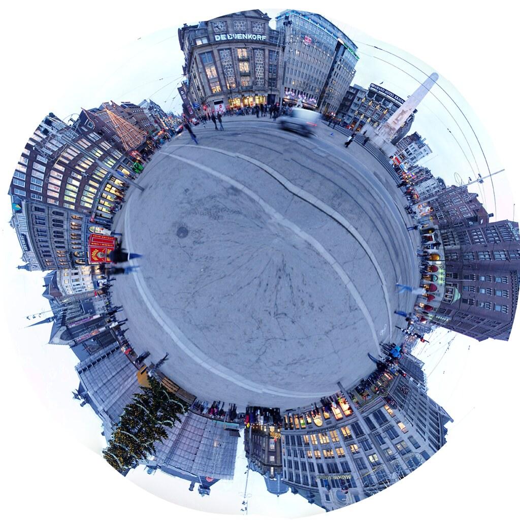 Dam Square planet