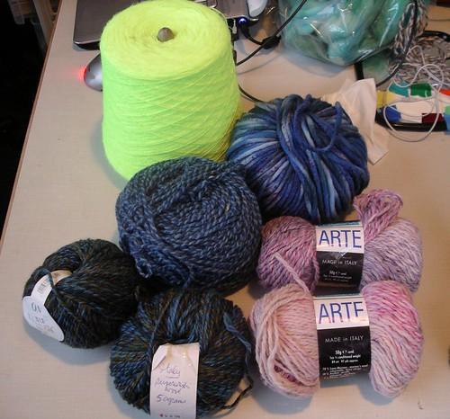 Thrift store yarn