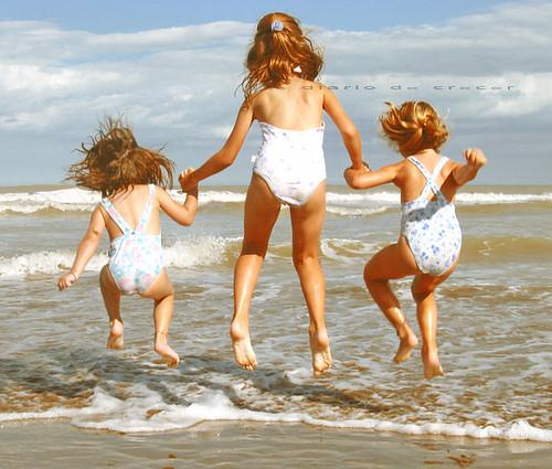 las olas y el viento **Explore!