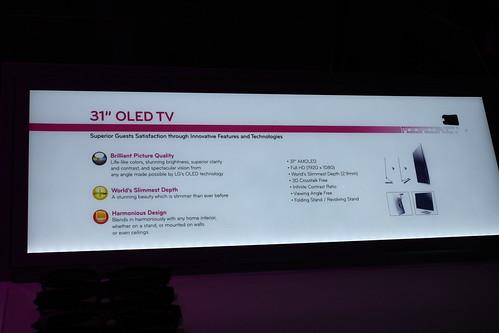 LG OLED-TV CES-2011