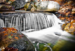 PA Fall Fun (Jay Cassario) Tags: longexposure autumn mountains leaves rock digital river landscape waterfall nikon stream pennsylvania falls tokina pa swirl dslr polarizer 1224mm lr3 d90 tokina1224mm nikond90 lightroom3