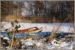 Haarsteegse  Wiel (ditmaliepaard) Tags: snow sneeuw brabant picnik haarsteegsewiel roeibootjes haarsteeg