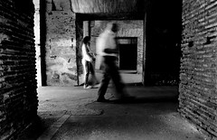 . (Nicol Panzeri) Tags: people blackandwhite bw man motion blur rome roma gente streetphotography bn colosseum arena uomo movimento biancoenero colosseo streetshot flavianamphitheatre anfiteatroflavio canon450d scattodistrada mygearandmepremium mygearandmebronze nicopino scattocittadino