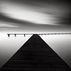 Dead-End (Joel Tjintjelaar) Tags: bw jetty bwphotography deadend kenna blackandwhitephotography michaelkenna daytimelongexposure bwfineartphotography tjintjelaar bwnd11010stopsfilter ibrokemycanon