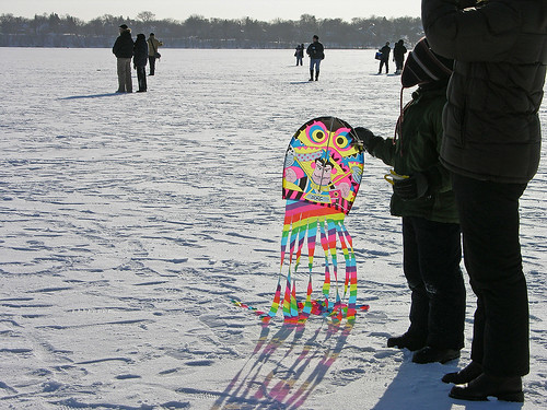 color bright kite