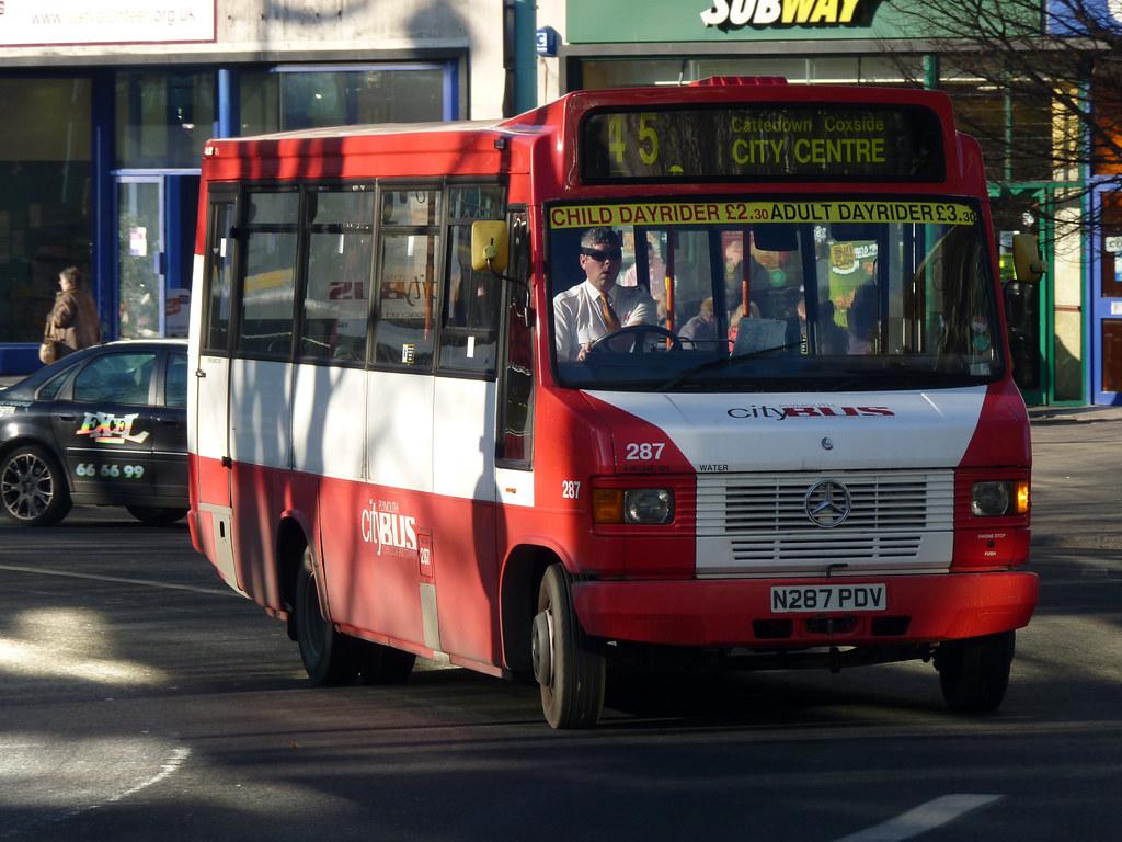 Plymouth Citybus 287 N287PDV