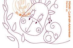 esquema girafa (Ateli Ma do Amor - By Carol Lidman) Tags: patchwork moldes patchcolagem coisasfofas tecdos