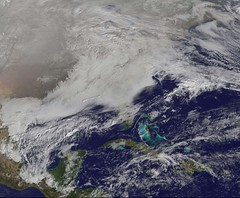 NASA GOES-13 USA Eastern View January 11, 2011