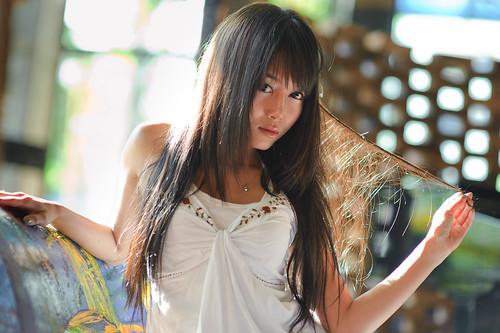 [フリー画像] 人物, 女性, アジア女性, タイ人, 201102082100